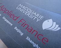 Macquarie Master of Applied Finance viewbook