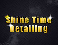 Shine Time Detailing Logo and Profile Pic
