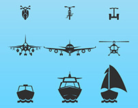 Flat Transport Icon