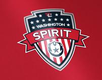 NWSL Washington Spirit Crest