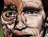 Schwarzenegger- Illustration