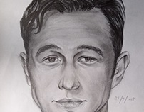Sketches of movie stars