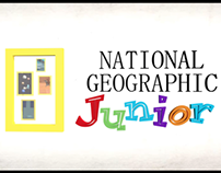 Motion Graphic - National Geographic Jr. TVC