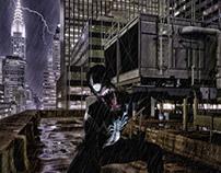 Please Paint Me Comis - Venom in the City