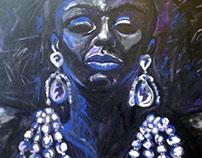 Painting - Black Diva