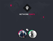 NetworksChat-Mobile App Design