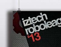 Iztech RoboLeague 2013 Branding