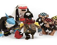 Pirates - papertoy