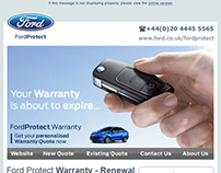 FordProtect Warranty HTML Email