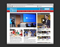El Hispano News Website Design & Build