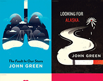 John Green Novels | Redesigned