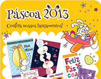 Catálogo/ Mala direta- Páscoa 2013