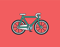 Cycling Icons / Illustrations