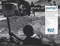 Charity Pump Aid print