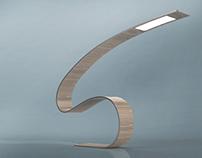 Lumen-S OLED lamp