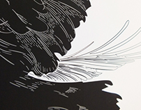 Kinetic Poster //raven//