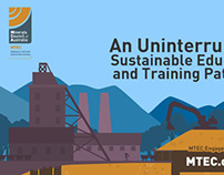 MTEC about us infographic