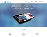 Cashier Windows 8 App Microsite