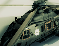 Helicopter NH90_Helicóptero NH90 (3D)