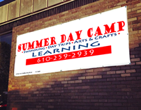 Signage for Caring Heart Summer Camp