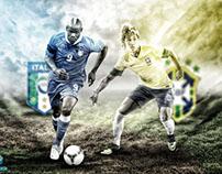 Brazil Vs Italia