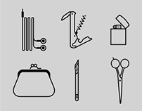 Icon Set: Pocket Pictograms