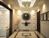 modern reception for villa mr.A.Mahdi