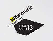 Marcom13 logo proposal