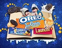 Oreo Ice Cream Launch