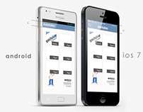 Mobiloud mobile app redesign for android and ios7