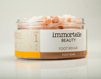 Branding and Package Design: Immortelle Beauty
