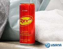 Social media branding kit: Rev3 Energy