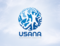 Social media branding kit: USANA logo