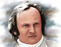 Chris Amon Digital Painting
