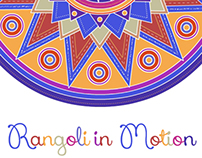 Rangoli in motion - Gif animations