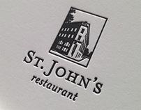 New Logo Concepts for St. John's Restaurant