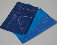 Paper plane business cards