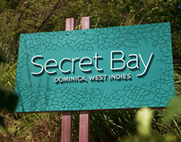 Brand Identity Design: Secret Bay Resort, Dominica