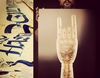 INKED HANDS POSTER