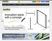 Madix, Inc Corporate Website Design & Develop