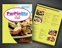 Menú PurPinBlu Café