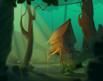 Ocean & Forest Desktop