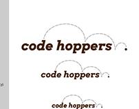 Code Hoppers Logo Concept