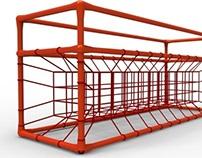 SpiderWeb Shelf