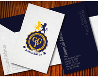 Visual identity for GGP and Associates.