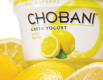 Chobani Greek Yogurt National Campaign