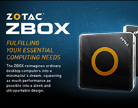 ZOTAC USA Banners and E-Blasts