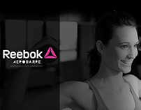 REEBOK AEROBARRE (INTERNSHIP PROJECT)