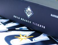 Tampa Bay Rays Ticket Artwork