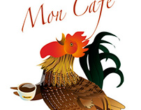 Mon Cafe' Rooster